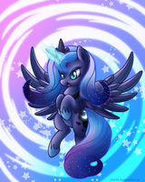 Magical Pony Luna! by Shilokh