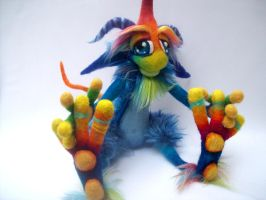Starry Night Goblin by Tanglewood-Thicket