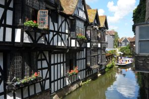 A canal in Canterbury by Irondoors