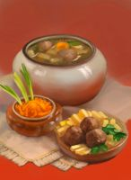 Russian Food by lowly-owly
