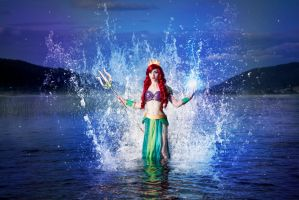 Ariel the Warrior Mermaid #09 by Phobos-Cosplay