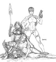 Witchblade-Magdalena-Samantha by Sequential76