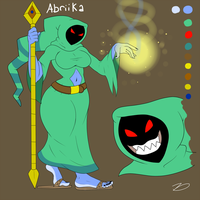 Abriika, the Sorcery Wizardess by zp92