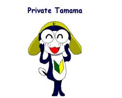 Private Tamama in MS Paint by Baylor-The-Pikachu