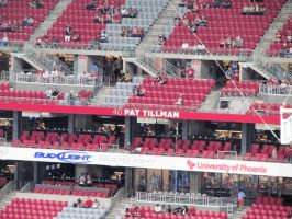 Pat Tillman Ring Of Honor Place by BigMac1212