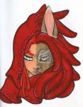 The Red Wolf Queen by inami-chan