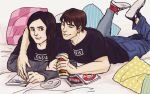 My Mad Fat Diary: Rae and Finn by SchifferCake