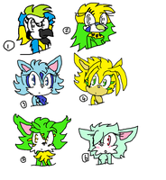 Sonic adoptables 5 closed by demonmoo