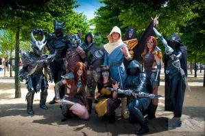 Epic Skyrim Group by Colzy-Chan