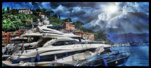 Big Boats Italy HDR by TonistL
