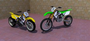 dirt bike by erahmats