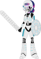 Twilight, Toa of Ice by ShadyHorseman