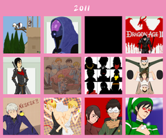 2011 in review by ShadowCutie1