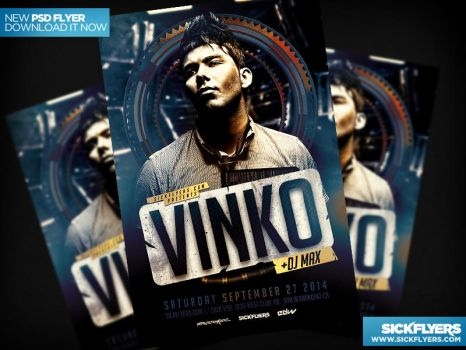 Special Guest Flyer Template PSD by Industrykidz
