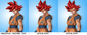 goku edit dragon ball z battle of z by Naruttebayo67