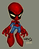 Little spidey color by redeve