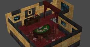 RESIDENT EVIL REVELATION PRIVATE POKER ROOM by Oo-FiL-oO