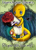 Traditional Charmander Valentine by LiBoggs