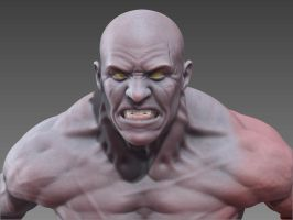 Barbarian sss Zbrush render by sankart