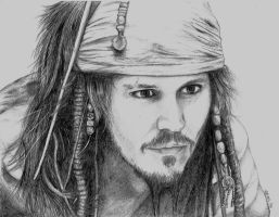Jack Sparrow by Drawing-You-In