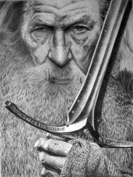 Gandalf the Grey by Aline96