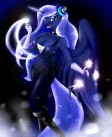 Nightwish Luna v.2(Redraw) by BluDraconoid
