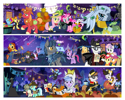 Nightmare Nights 2013 by PixelKitties