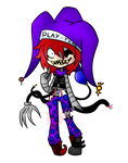 Glitched Carnival Jester (CLOSED) by TwinJestersxAdopts
