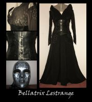 Bellatrix Lestrange by FantasyThreads