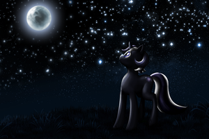 Blue Moon by MoongazePonies