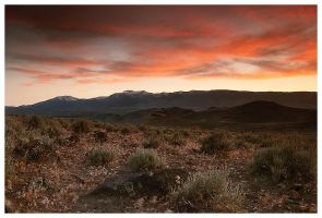 Huffaker Hills Sunset by madrush08