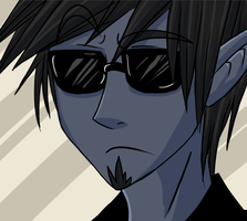 I wear my sunglasses at night by Eitriarch