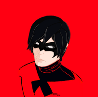 Nightwing by CrossedRunner