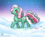 Fizzy in the Snow by hinchen