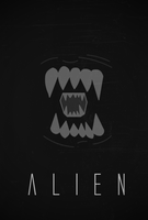 Alien poster by SpaceDelusion