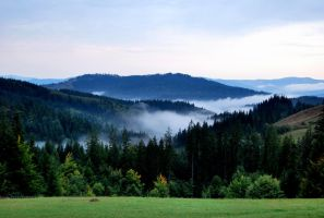 the mists of bucovina_. by meanonimAfA