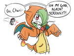 Go, Charizard! by RakkuGuy
