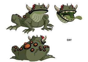 Ben 10 Mutant Frog design by Devilpig