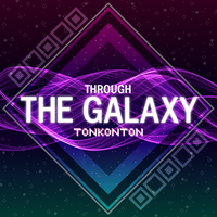 [Through The Galaxy] Album Cover by tonkonton