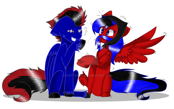 .:Commission:. The Galaxy Brothers by written145