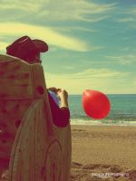 Red Balloon by pimpis