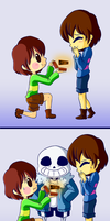 Until Sans do us part by watermelonium