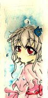 Watercolor Bookmark: Innocence by Kami-chama18