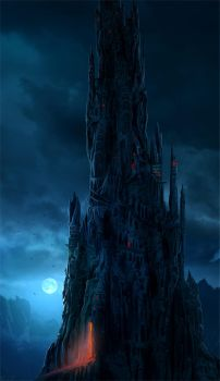 Dark tower by Sedeptra