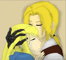 Edward x Winry - There For You by happyzuko