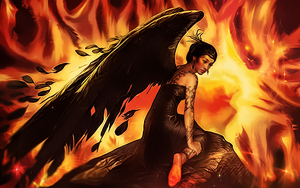 Angel in Hell by malekith72