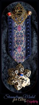 Steampunk Steamstress Medal for Alice by Cyanida