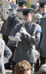 Me at army playing clarinet by Elffi