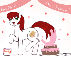 Palette Birthday by redintravenous