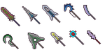 Pixel weapons collection 4 by FrozeN9